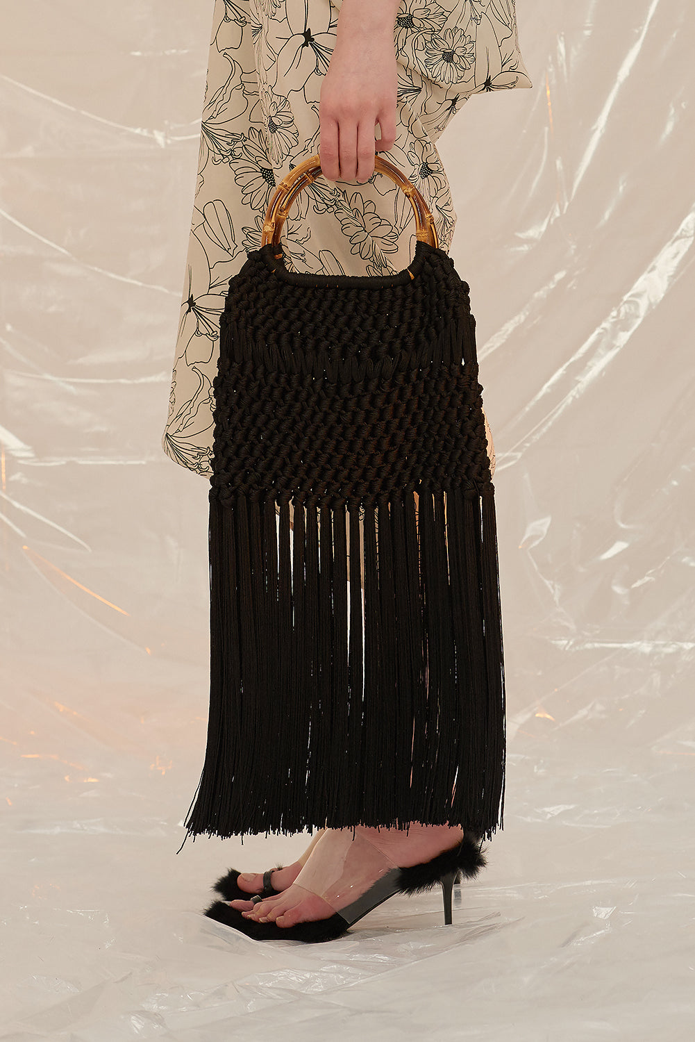 Flapper Bag-Black