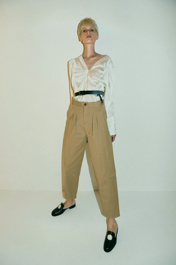 Kansai Trousers-Camel