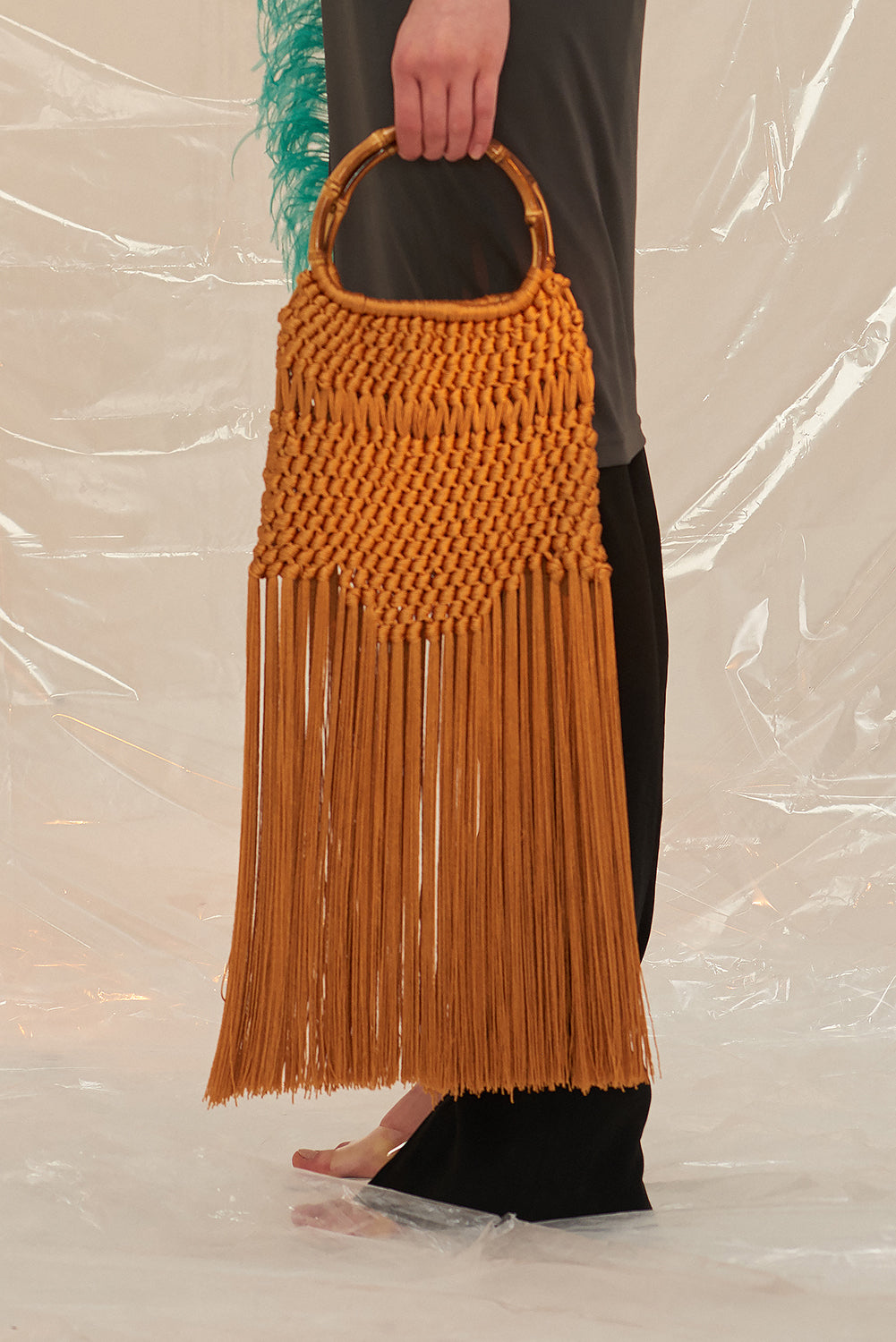 Flapper Bag-Rust