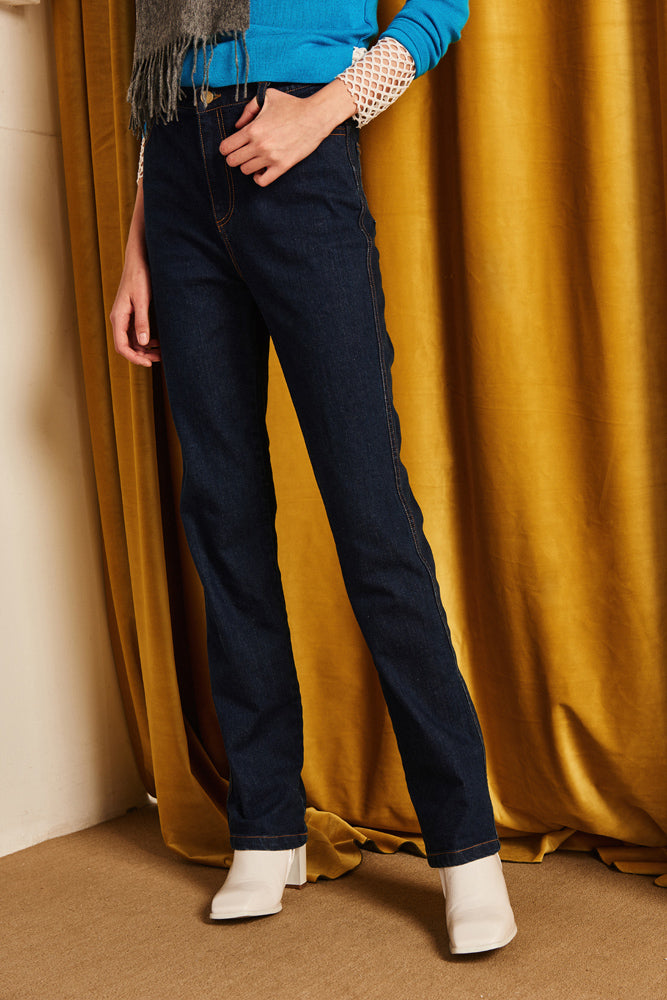 Original Straight High-rise Jeans - front row shop