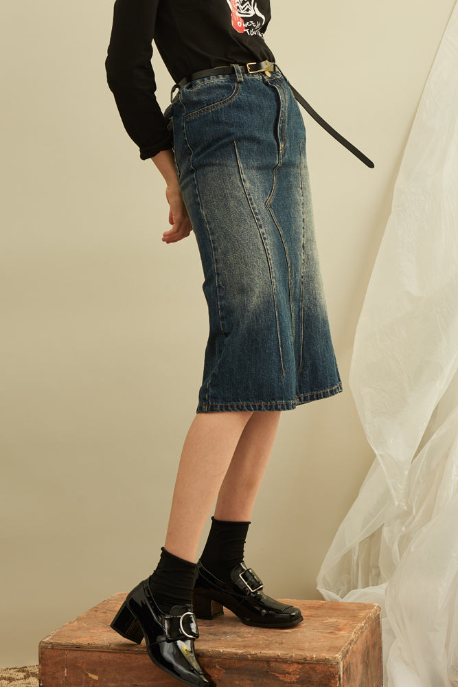 Two Way Denim Dress