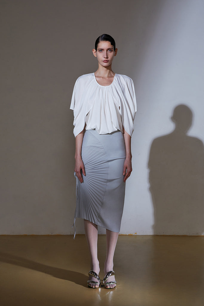 Drapes Top-Off White