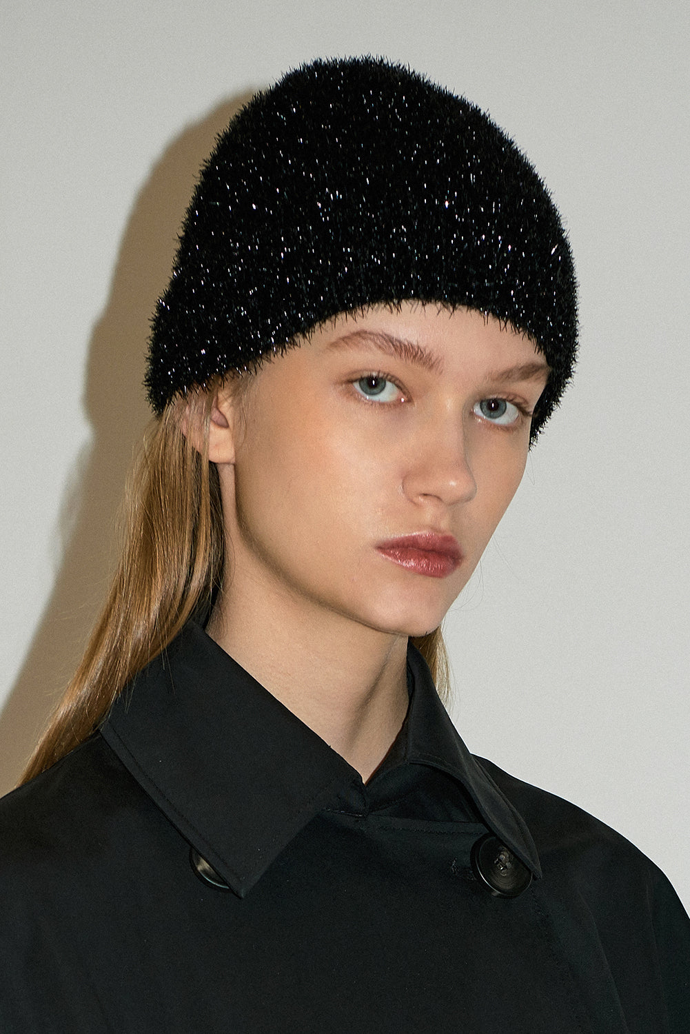 Knitbeanie-Black