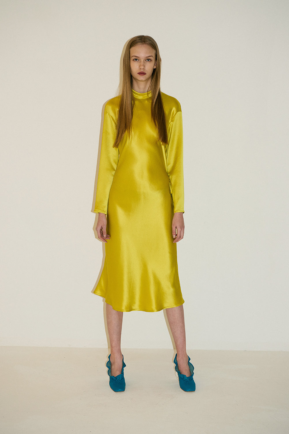Betta Twoways Dress-Sunflower Yellow