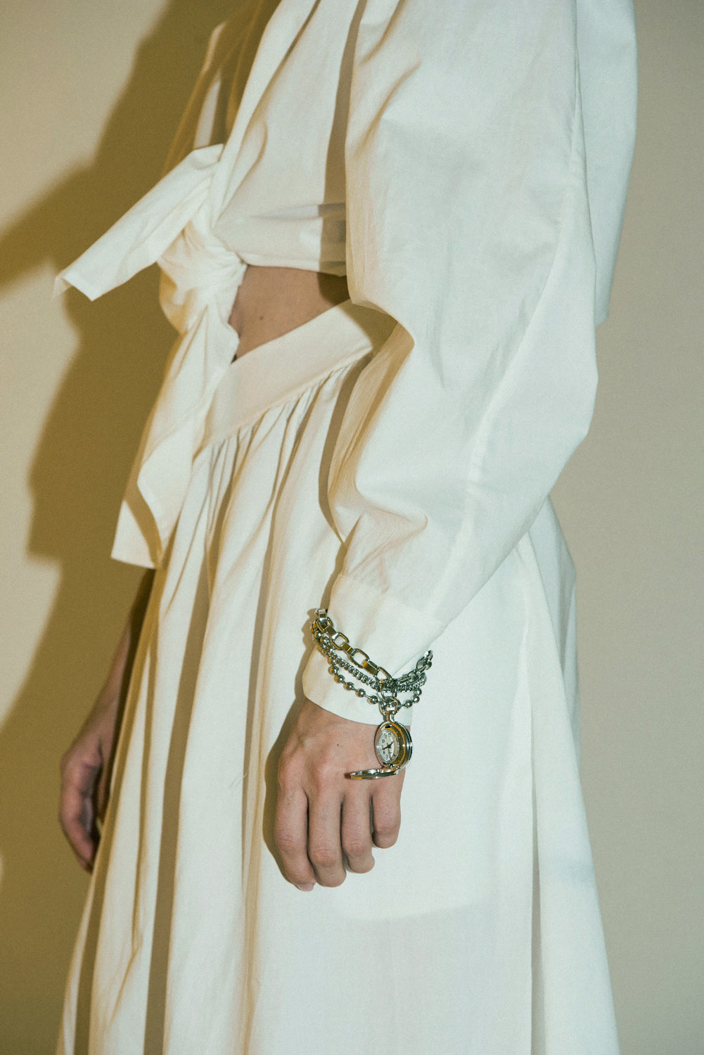 Kumo Dress-White