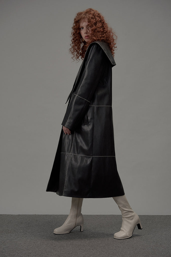 Rapture Trench Faux Leather
