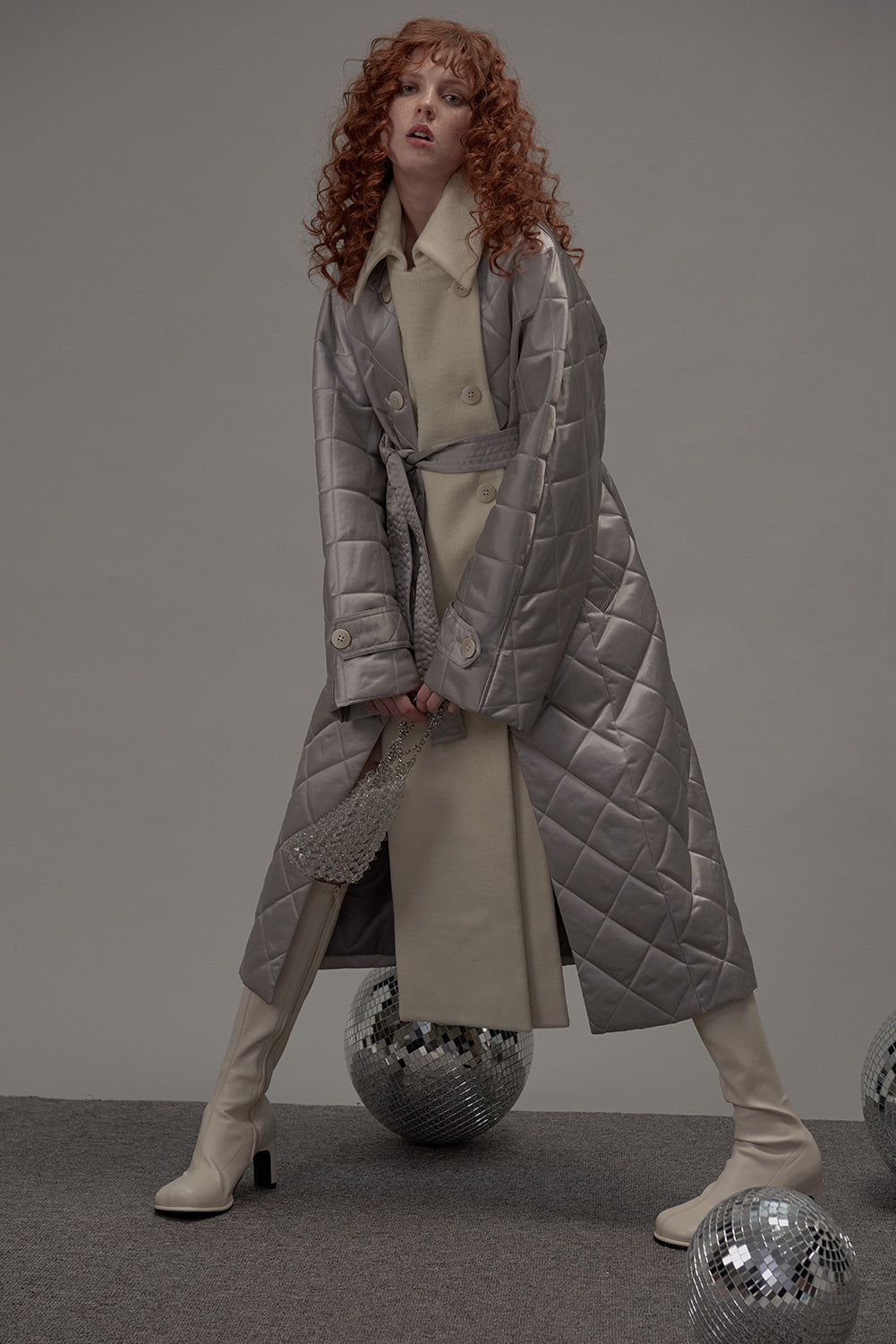 Chrome Coat Grey Mix-Grey