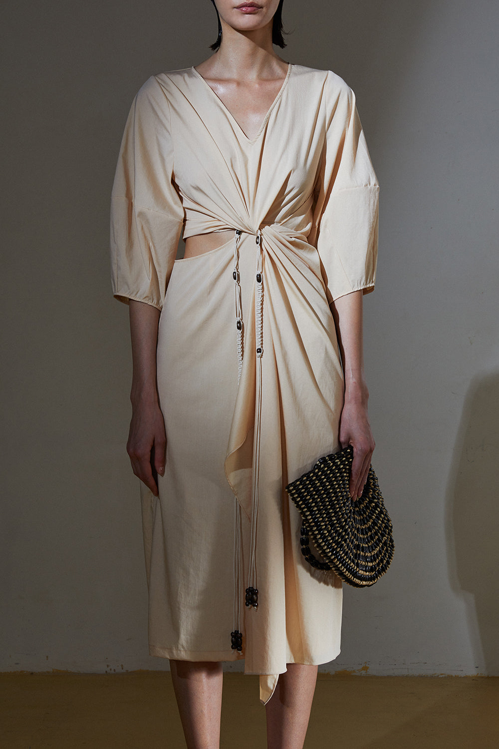 Knot Dress-Butter
