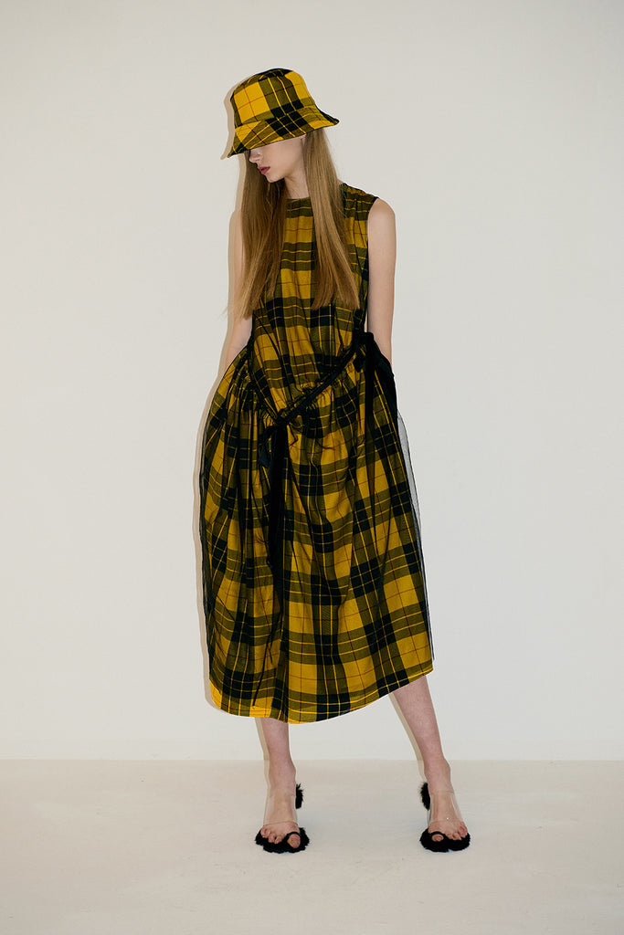 Siouxie Check Dress