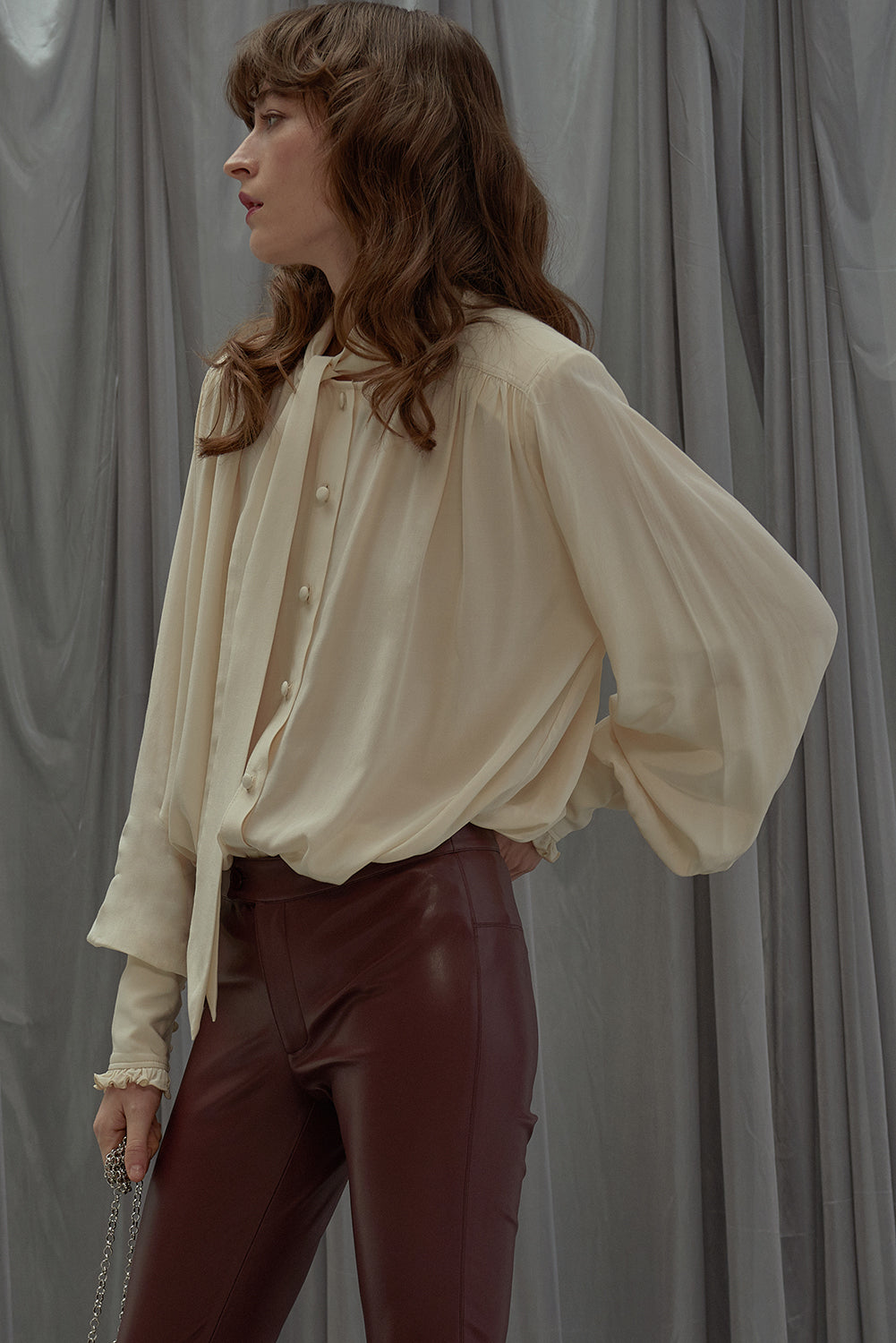 Laura Blouse-Cream