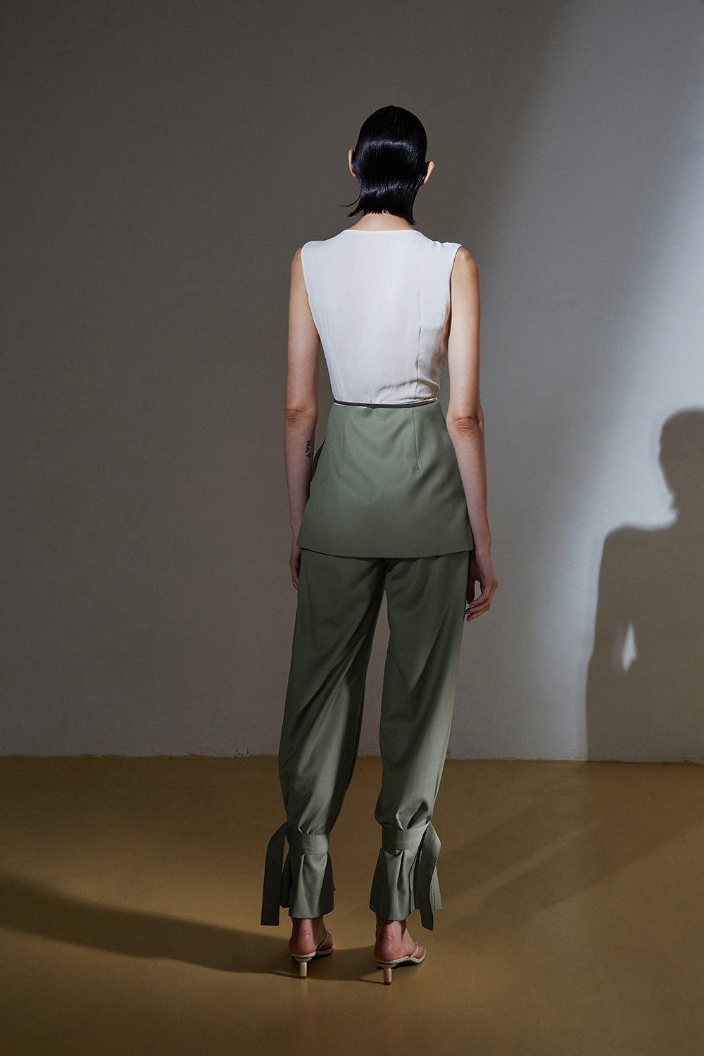 2 Ways Pants-Khaki Green