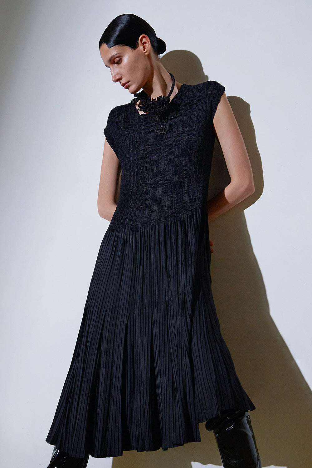 Beatrix Dress-Black