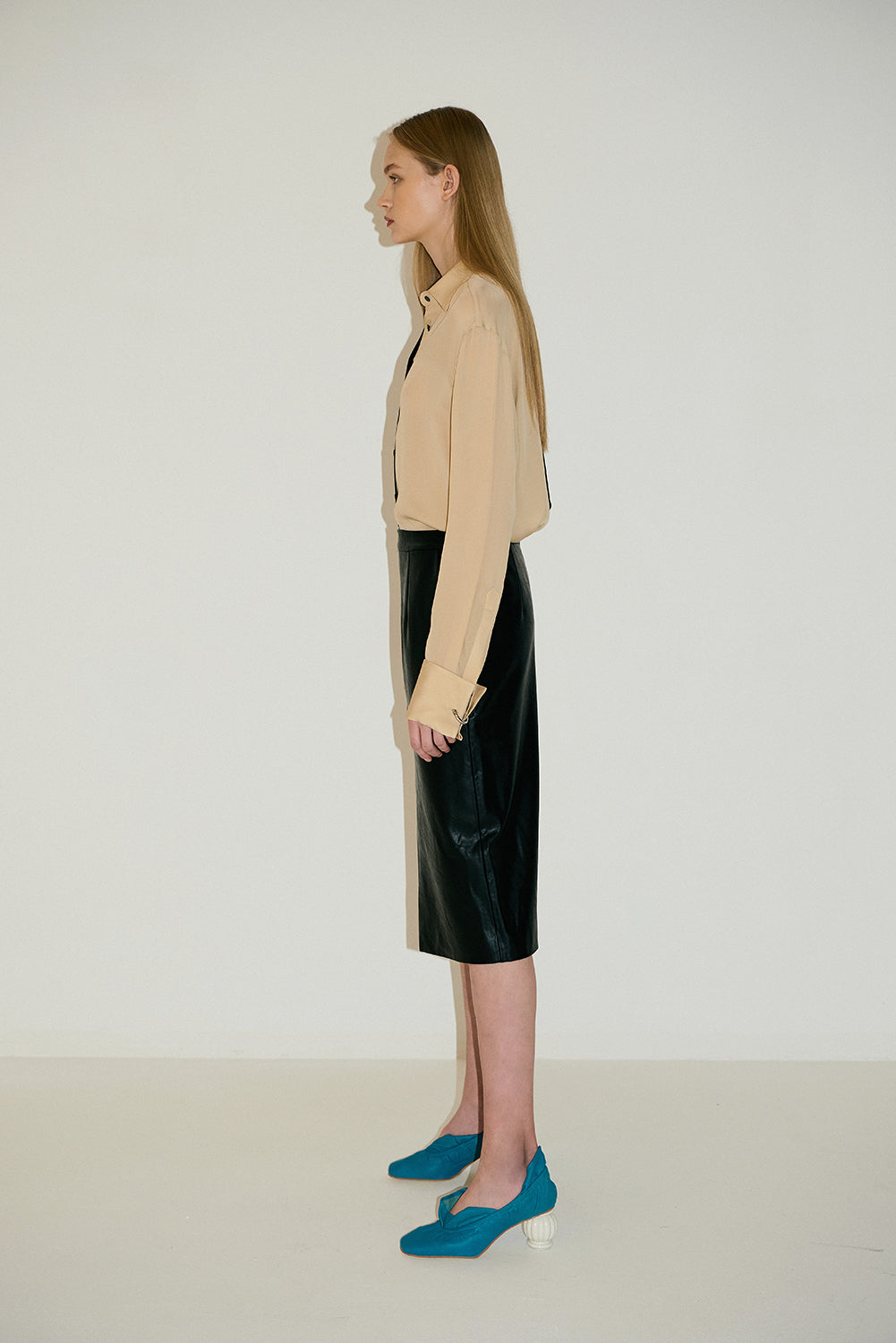 Two-Tone Skirt