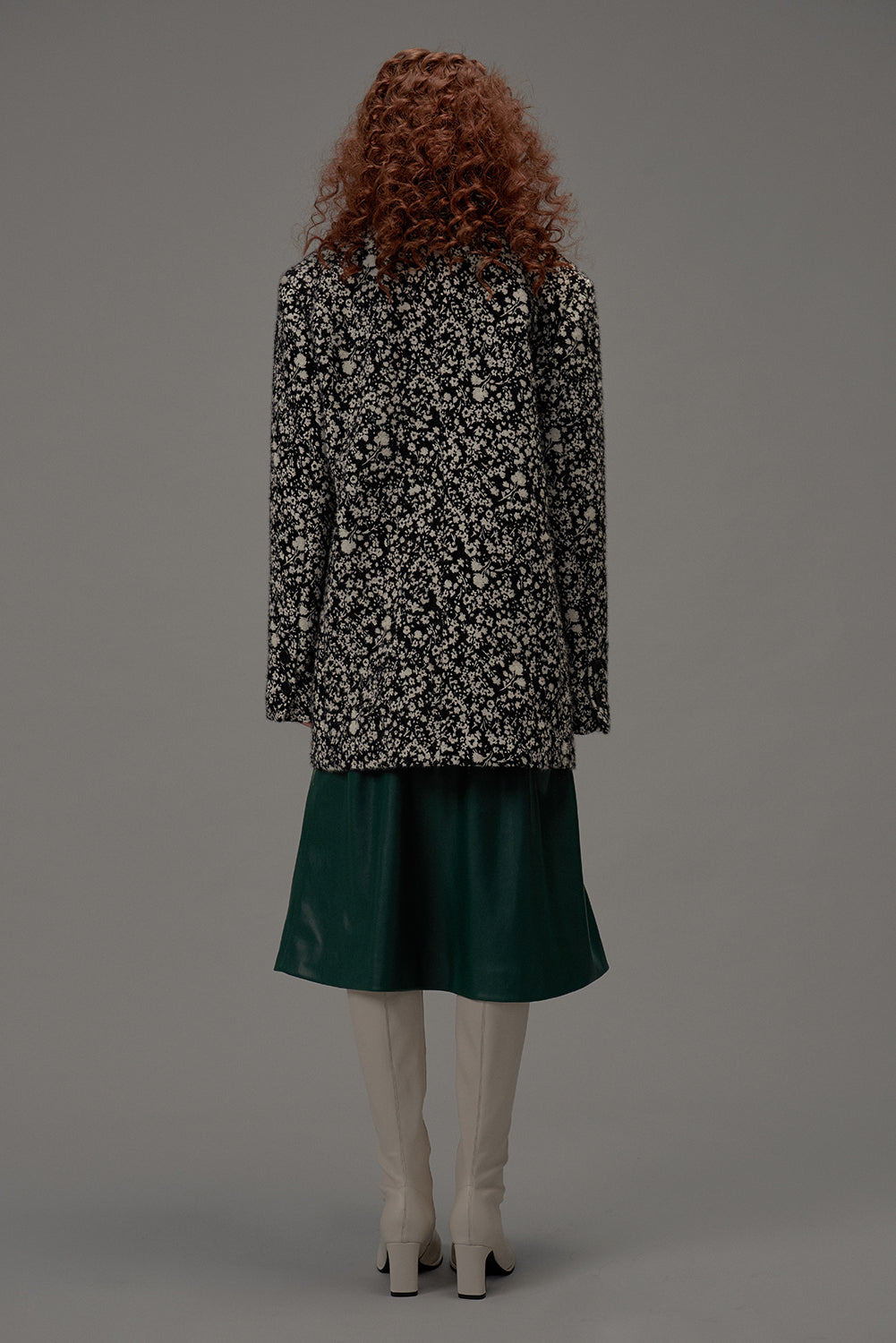 2 in 1 Skirt-Dark Green