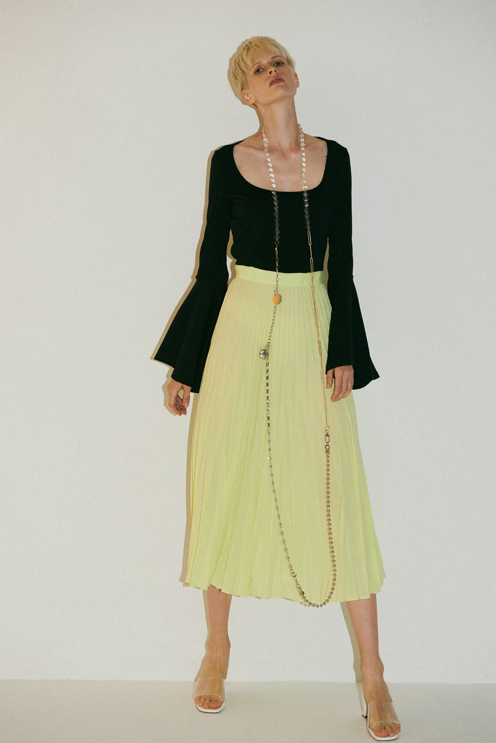 Beru Dress-Black Yellow