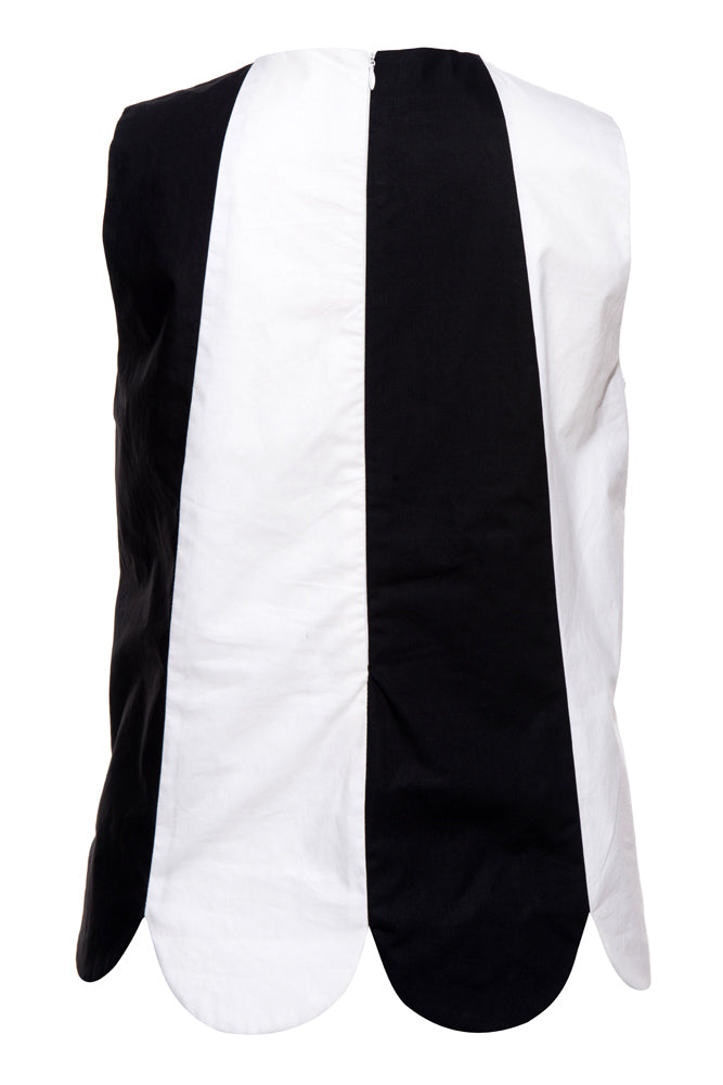Colorblock Tank Top - front row shop