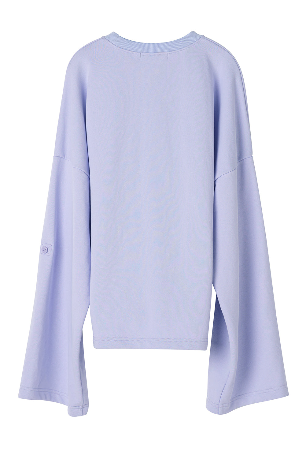 Zipped Sweatshirt-Lilac