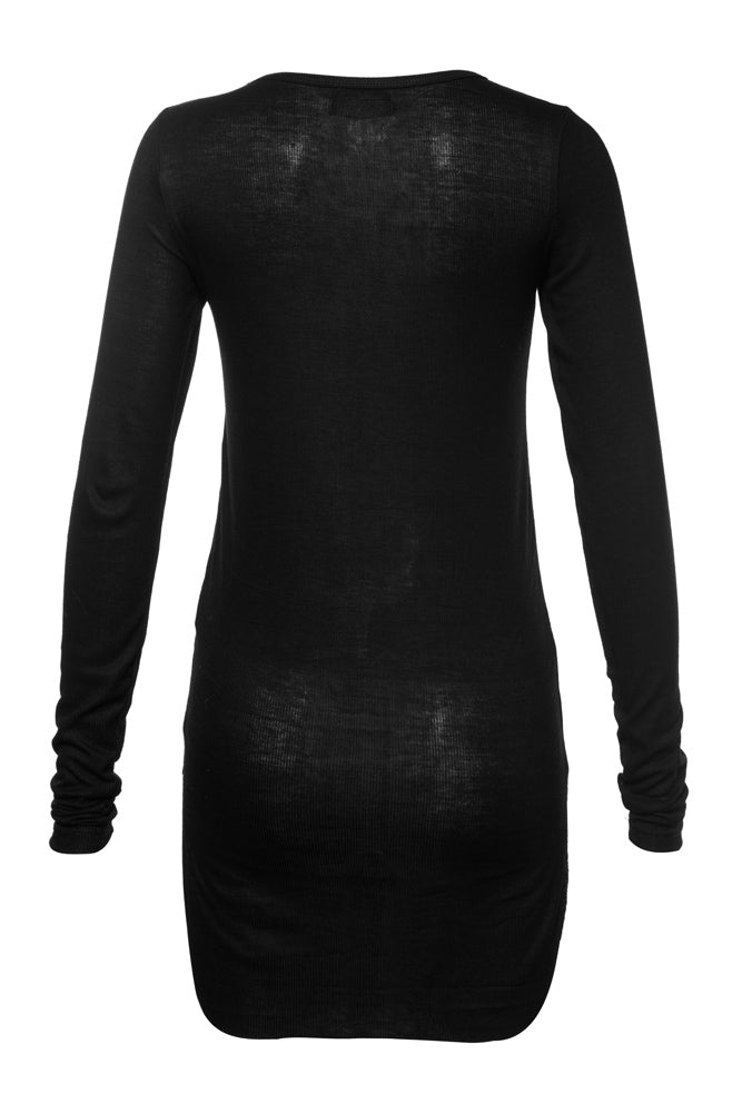 Black Hand Print Top - front row shop