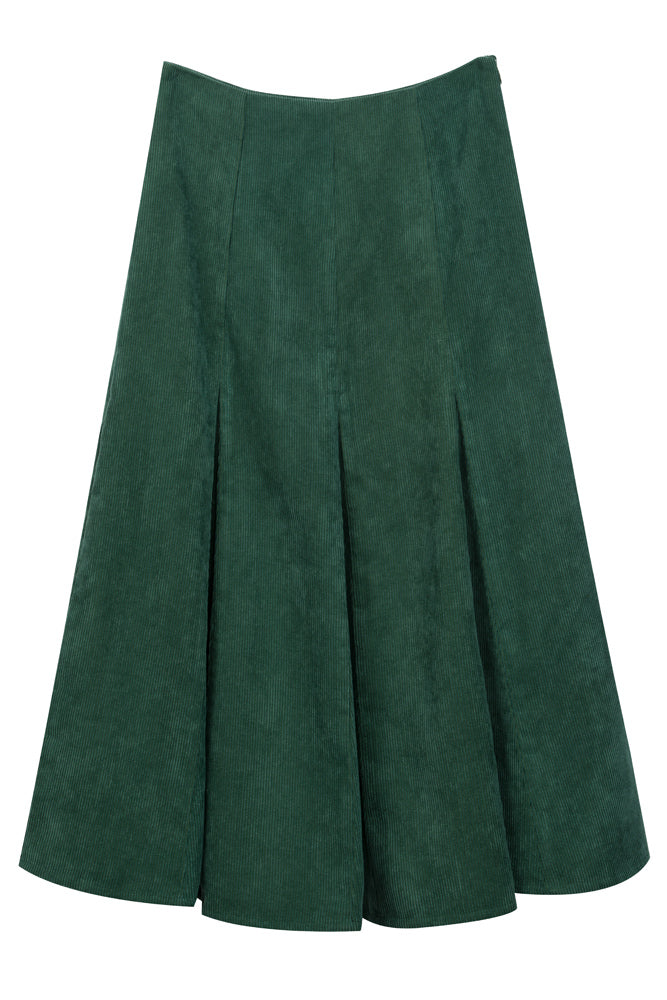 Corduroy Flare Skirt - front row shop