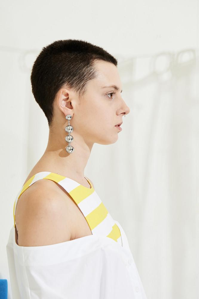 Ball Drop Earrings - front row shop