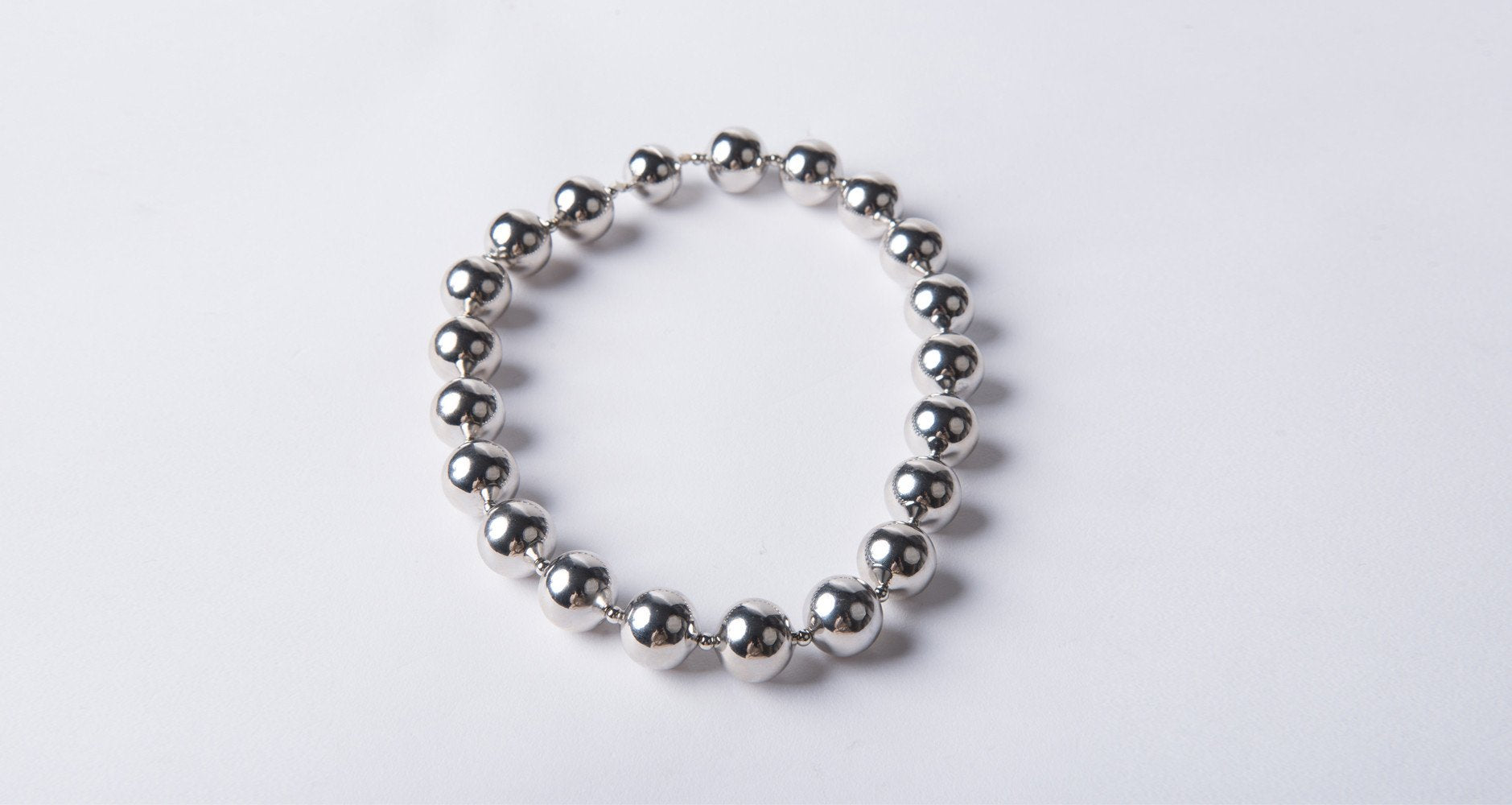 Ball Necklace - front row shop