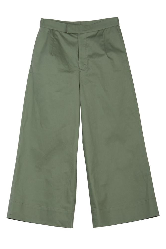 Cargo Cropped Pants - front row shop