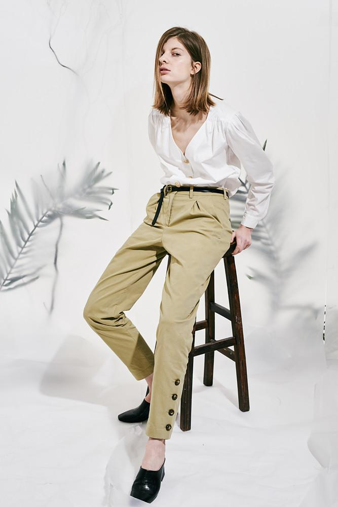 Cargo Trousers-FRONT ROW SHOP