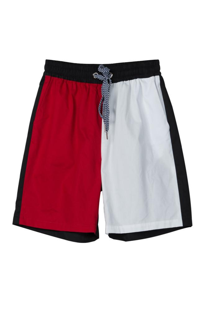 Contrast Sporty Shorts-FRONT ROW SHOP