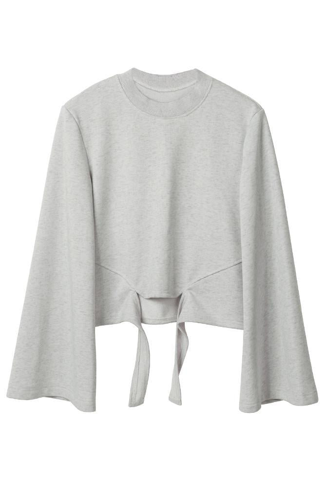 Cropped Sweatshirt-FRONT ROW SHOP