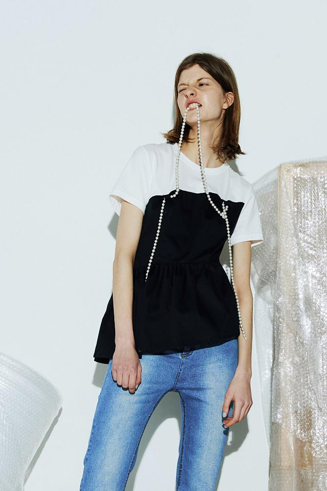 False Two Pieces  T-shirt - front row shop