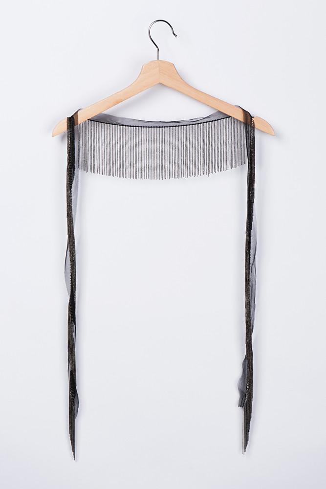 Fringed Necklace-FRONT ROW SHOP