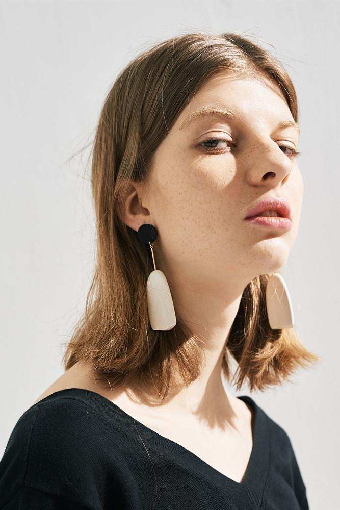 Geometry Earring-FRONT ROW SHOP