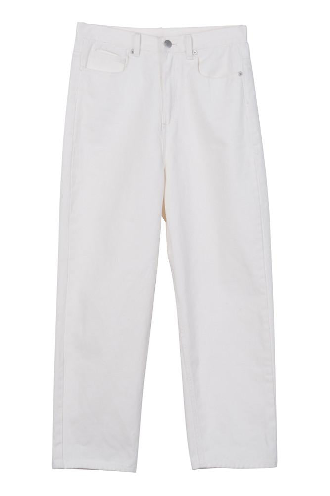 High Waist Culotte Jeans-FRONT ROW SHOP