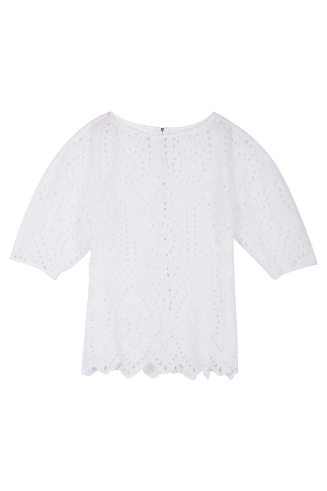 Lace Top-FRONT ROW SHOP