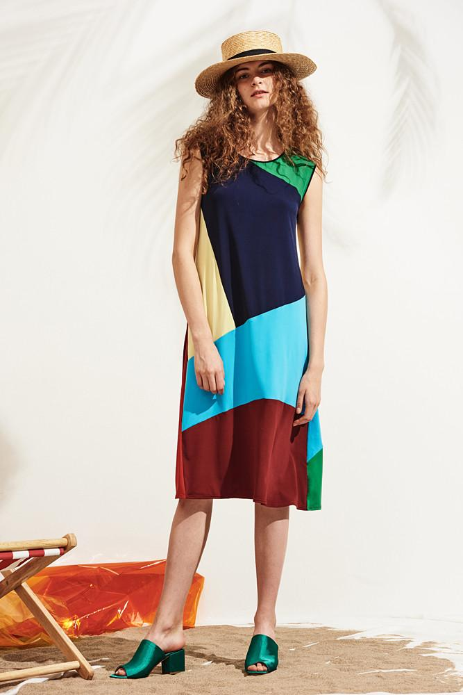 Multicolor Dress-FRONT ROW SHOP