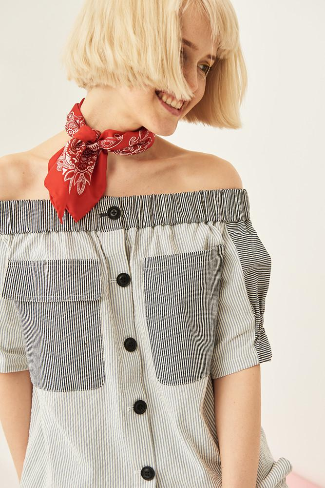 Off The Shoulder Top - front row shop