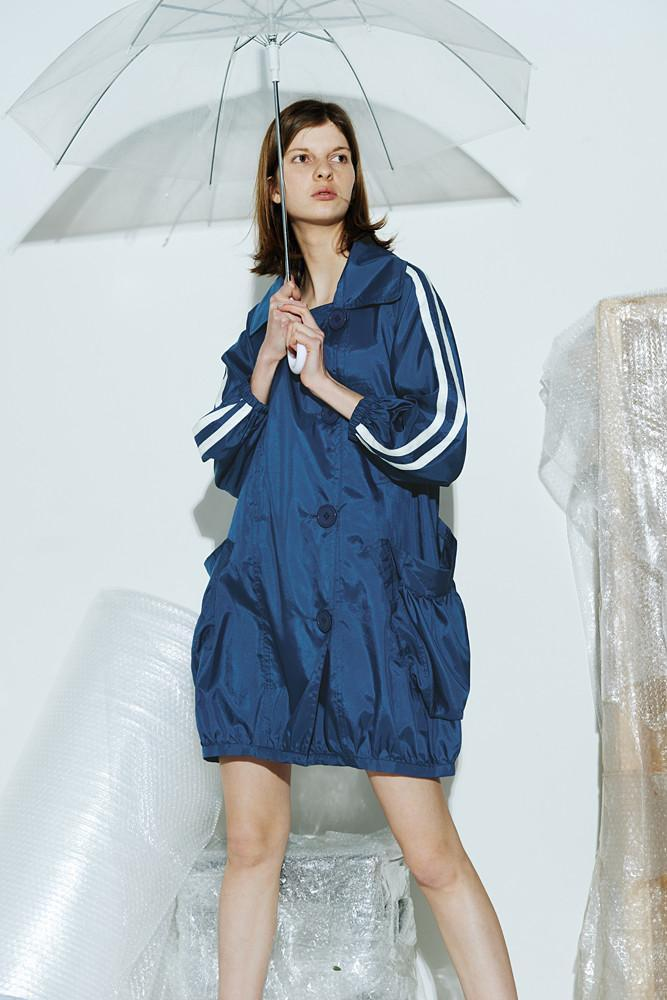 Oversized Sporty Coat - front row shop