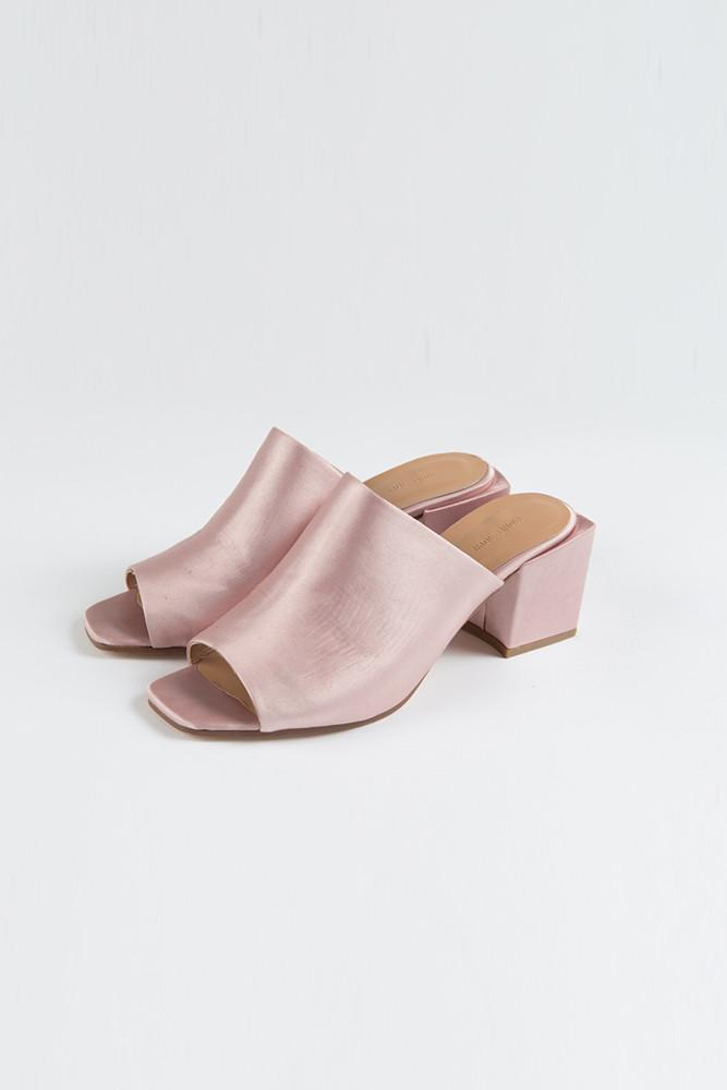 Satin Mules-FRONT ROW SHOP