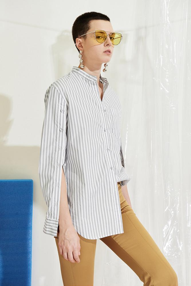 Striped Shirts-FRONT ROW SHOP