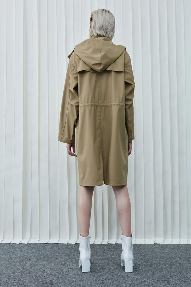 Water Repellent Parka-FRONT ROW SHOP