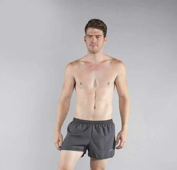 "Men's 3"" Half Split Trainer Shorts"