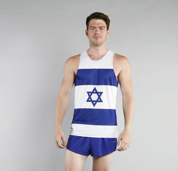 Men's Country Flags - Singlets