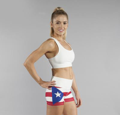 Women's Country Flags - Spandex Fit Shorts