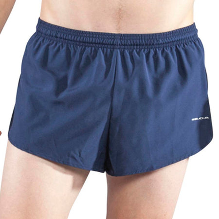 "Men's Vivid Blue 1"" Elite Split Shorts"