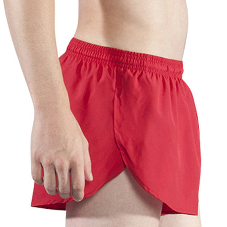 "Men's Flamingo Green 1"" Elite Split Shorts"