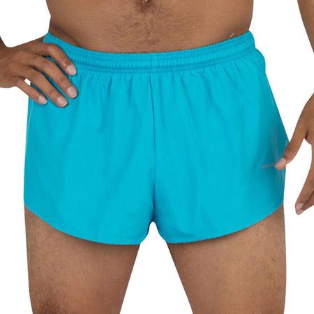 "Men's Dolphin Blue 1"" Elite Split Shorts"