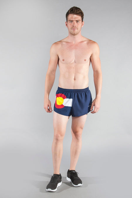 "MEN'S 1"" ELITE SPLIT SHORT- OREGON"