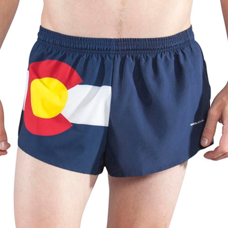 "Men's North Dakota 1"" Elite Split Shorts"