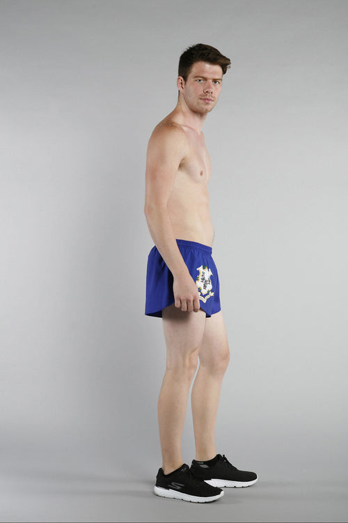 "MEN'S 1"" ELITE SPLIT SHORT- CONNECTICUT - BOAUSA"