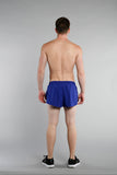 MEN'S 1 INCH INSEAM ELITE SPLIT RUNNING SHORTS- CROATIA